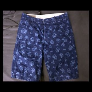 Levi's shorts with print